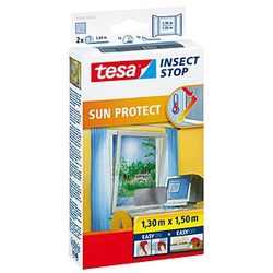 tesa Fliegengitter Insect Stop SUN PROTECT anthrazit
