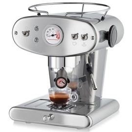 Illy Francis Francis X1 Ground silber