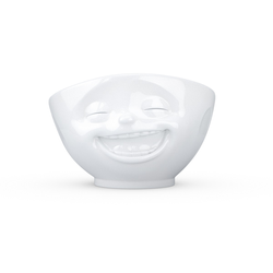 TV Tassen Schale groß weiß lachend 1,0 L TV Tassen 22701