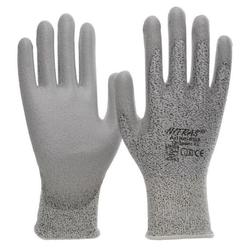 NITRAS D.-Handschuhe PU grau-grau VE 100 Paar