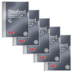 BRUNNEN 5 BRUNNEN Collegeblöcke Student Premium DIN A4 kariert