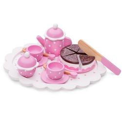 New Classic Toys Kaffeeservice mit Kuchen