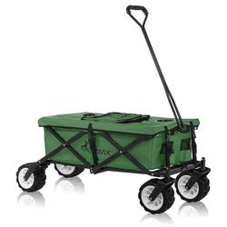 SAMAX Faltbarer Bollerwagen Offroad Cool - Grün