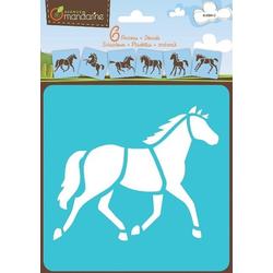 Schablonen Pferde