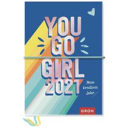 You go girl! 2021 Mein kreatives Jahr