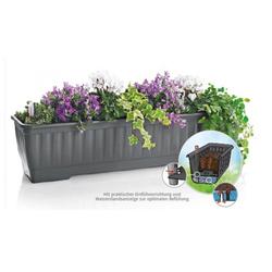 Alpfa WATER Blumenkasten mit Speicher - Balkonkasten 40cm-80cm 60 cm