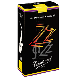 Vandoren 10er Pack Blätter Altsaxophon ZZ Stärke 2,5
