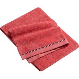 Esprit Box Solid Handtuch (2x50x100cm) coral