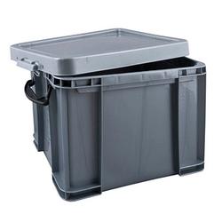 Really Useful Box Aufbewahrungsbox 35,0 l silber 48,0 x 39,0 x 31,0 cm