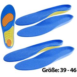 2er-Set Sport-Schuheinlagen, Größe 39-46