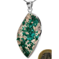Adelia´s Kettenanhänger Dioptas Anhänger 925 Silber