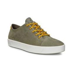 ECCO Soft 8 Hyperlapse Sneaker, Herren, Größe: 45 Normal, Sonstige, Leder, by Lands' End, Wild Tarmac - 45 - Wild Tarmac