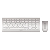 Cherry DW 8000 DE weiß/silber (Set) (JD-0300DE) ab 58.32 € im Preisvergleich