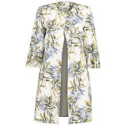Lavard Damenmantel mit Pflanzen-Muster 85104