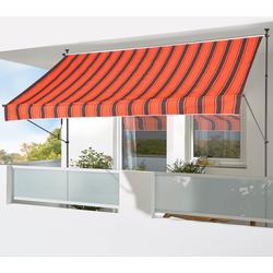 KONIFERA Klemmmarkise Breite/Ausfall: 250/150 cm orange