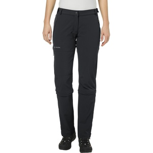 VAUDE Damen Hose Women's Farley Stretch Capri T-Zip II, Black, 38, 045770104380
