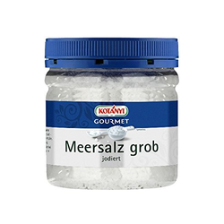 Kotanyi Meersalz grob jodiert 400ccm Dose universell einsetzbar
