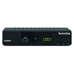 TechniSat HD-C 232 SAT-Receiver schwarz SAT-Receiver