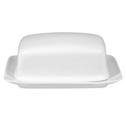 Seltmann Weiden Butterdose Rondo Liane in weiß, 1/2 Pf