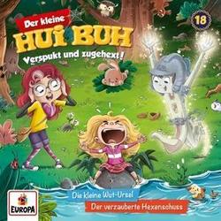 Der kleine Hui Buh 018. Die kleine Wut-Ursel / Der verzauberte Hexenschuss als Hörbuch CD von