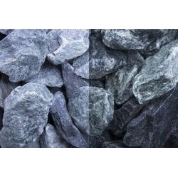 Steinschlag Marmor Grün SS, 40-80, 30 kg Big Bag