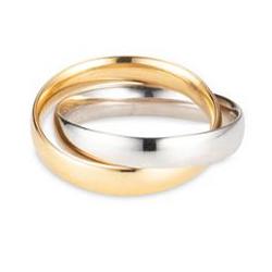 GOLDRAUSCH Ring poliert mindestens 1,7g Gold 585