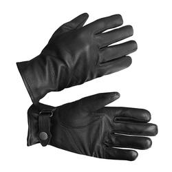 Mil-Tec BW Handschuhe Ziegenleder gefüttert schwarz, Größe XS/7