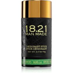 18.21 Man Made Spiced Vanilla festes Deo ohne Aluminiumsalze 75 g