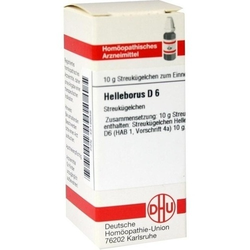 HELLEBORUS D 6 Globuli 10 g