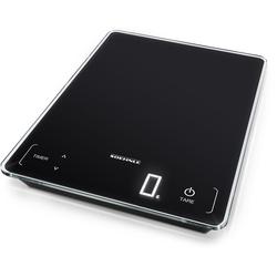 Soehnle Küchenwaage Page Profi 100, mit Sensor-Touch und Küchentimer, Tragkraft bis zu 15 kg, 1 g genaue Teilung