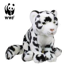 WWF Plüschfigur Plüschtier Schneeleopard (weich, 19cm)