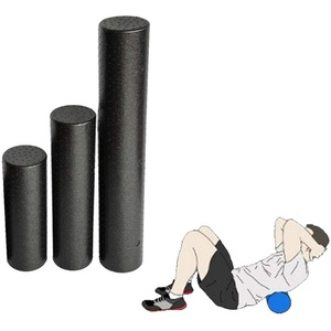Faszienrolle Fazienrolle Foam Roller Fazienrolle RüCken Faszien Rolle Faszienrollen Pilatesrolle Fastienroller Black,30cm