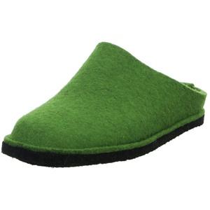 Haflinger Flair Soft grün Pantoffel 48