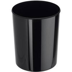 HAN i-Line 18130-13 Papierkorb 13l (Ø x H) 240mm x 300mm Styrol-Methyl-Methacrylat (SMMA) Schwarz 1