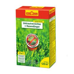 Unkrautvernichter + Rasendünger 2in1 SQ 120 | 2.4kg | für 120 m²