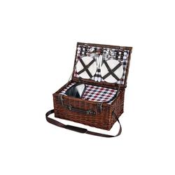 Cilio Picknickkorb Picknickkorb für 4 Personen VARESE, Picknickkorb
