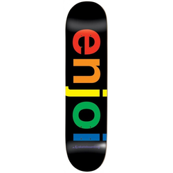 ENJOI SPECTRUM Deck black - 8.25