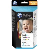 HP 364 CMY