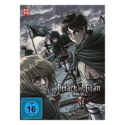 Attack on Titan - 2. Staffel - Box 1 - DVD  Filme