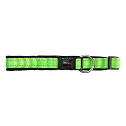 Hundehalsband Safe & Soft grün, Breite: ca. 35 mm, Länge: ca. 55 - 60 cm - ca. 55 - 60 cm