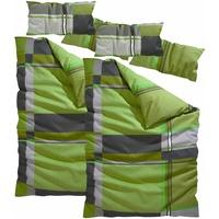 Linon grün (2x135x200+2x40x80cm)