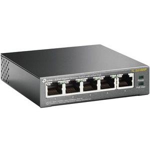 TP-Link Switch TL-SG1005P, 5-port, 1 Gbit/s, 4x PoE, unmanaged
