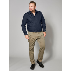Hemd Men Plus Marineblau