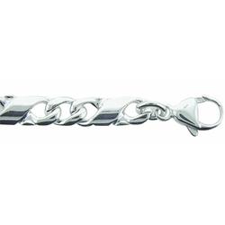 Adelia´s Silberkette 925 Silber Fantasie Halskette 45 cm, Fantasie?kette Silberschmuck für Damen