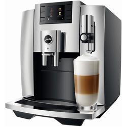 JURA E8 Chrom EB (15363) + 2 Pakete Jura Kaffee GRATIS!