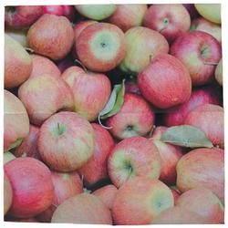 Linoows Papierserviette 20 Servietten reiche Apfelernte, Äpfel im Herbst, Motiv reiche Apfelernte, Äpfel im Herbst