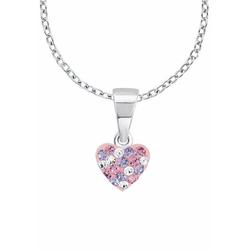 Prinzessin Lillifee Silberkette Herz, 2013171, mit Kristallsteinen