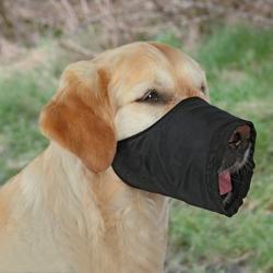 Trixie Maulkorb Nylon, Größe: XS-S / z.B. Jack Russell Terrier