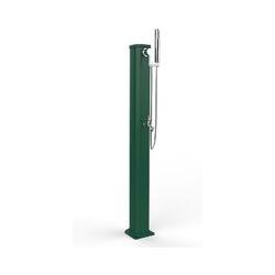 Douche de jardin basse Jolly Go Green cm 115x20x18,5 CV-JG185/6016 - Arkema Design-prodotto Made In