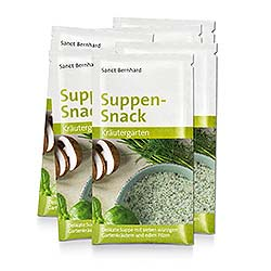 "Soup Snack ""Herb Garden"" Pack of 10 sachets"